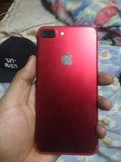 iphone 7+ (red)128 gb