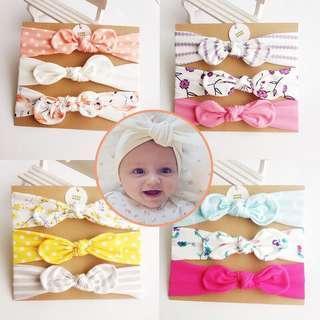 🚚 [set of 3pcs] Baby Girl Headband unicorn