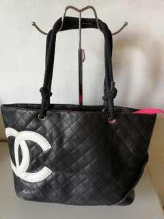 Chanel cambon tote bag.