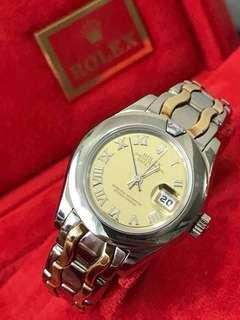 Rolex pearlmaster Wg/Yg