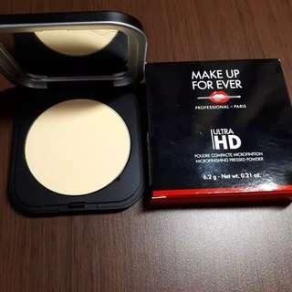 BRAND NEW WITH BOX  MUFE MAKE UP FOR EVER ULTRA HD PRESSED POWDER 02 BANANA.
