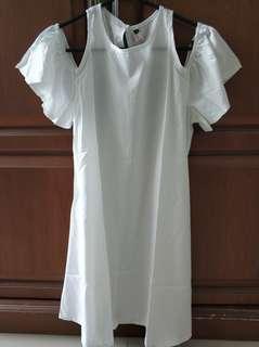 Mini White Dress / Dresa Putih