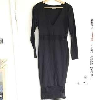 Kookai Midi Bodycon Dress