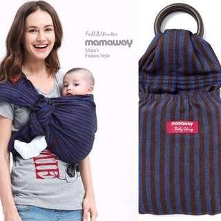 🚚 mamaway 藍莓布朗尼 揹巾