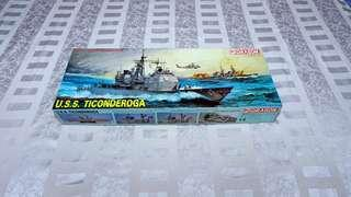 USS TICONDEROGA 1/350 Scale  Dragon