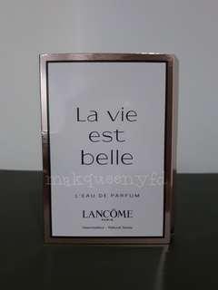LANCOME LA VIE EST BELLE L'EAU DE PARFUM VIAL 1.2ML