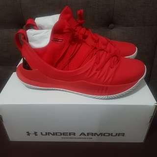 Under Armour Curry 5 Fire Red