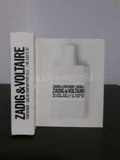 ZADIG & VOLTAIRE THIS IS HER PERFUME VIAL 1ML