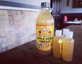 (PROMO) Cuka Apel Bragg share in jar 60 ml