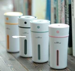 (⚠️Pre-Order Now YEAR END SALES⚠️)💡Cool Mist LED Cup Humidifier for Office Bedroom Baby Room with Retail Box💡