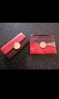 Mimco Waver Wallet and Medium Pouch