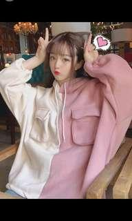 [PO] Duo-coloured Hoodie