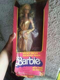 Vintage barbie golden