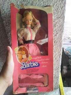 Vintage barbie angel face