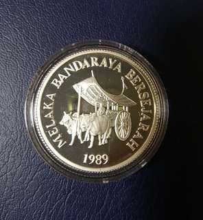 🇲🇾 1989 Malaysia RM10 Commemorative Proof Coin