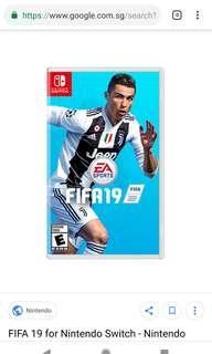 🚚 [BNIB] FIFA 19 Nintendo Switch
