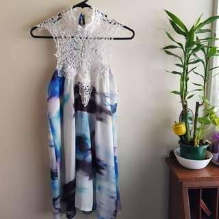 Morning mist dress