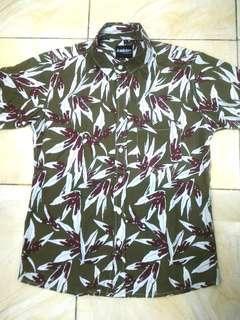 Kemeja hawai shirt