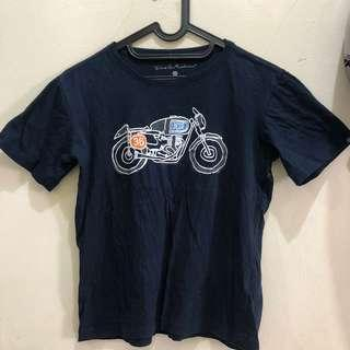 DEUS NAVY T-SHIRT