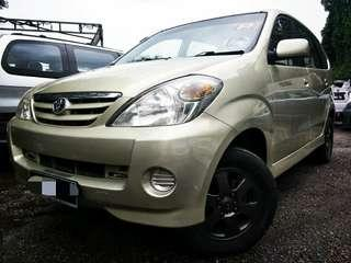2005 Toyota Avanza 1.3(A) LOAN KEDAI MUKA3K SENANG LULUS PEMBIAYAAN
