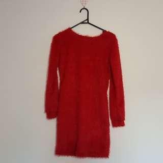 Fluffy Red dress
