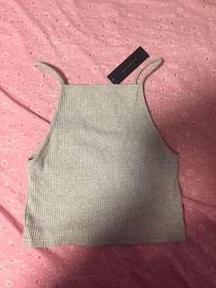 Revamped grey top