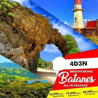 4D3N BATANES ALL IN PACKAGE !!!! (P6000/PERSON ONLY TO CONFIRM)