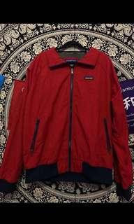 vintage patagonia red jacket