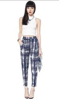 Love bonito Ashton pants in blue