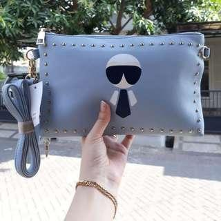 Clutch Fendi Karlito