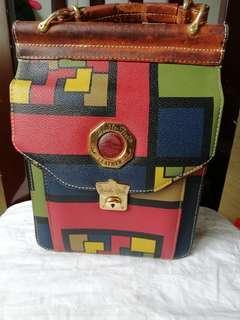 Authentic double fish handbag