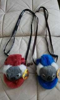 Koala Sling pouch (Blue and red) from Australia