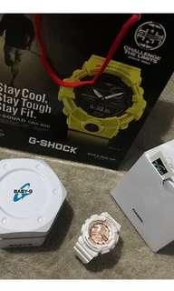 Baby G All White Wrist Watch (FREE SHIPPING)