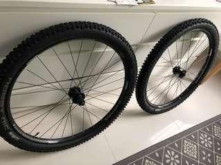 Bontrager Duster 29er wheelset (Wheels only)