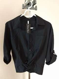 Brand New -Black Polo Top