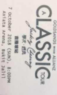 Jacky cheung octor 7th concert tickets cat 3 for sell