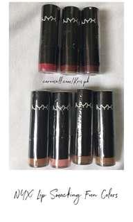 NYX Lip Smacking Fun Colors