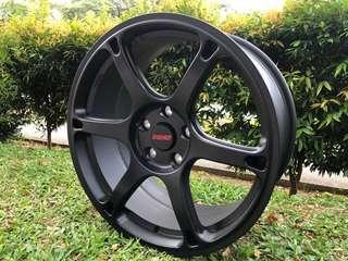 18in PCD 5-114.3 Forged Rims