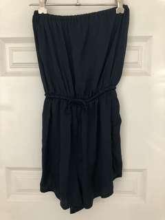Glassons strapless playsuit