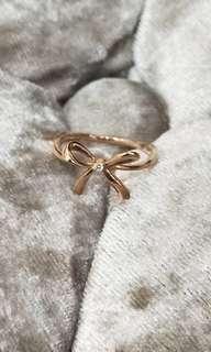正品🇯🇵玫瑰金真鑽石戒指💕全新含運
