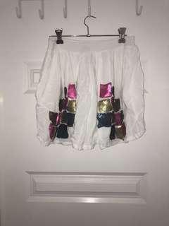 Angel biba sequin skirt