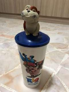 Rio movie character drinking cup