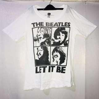 Forever 21 Let It Be The Beatles Shirt