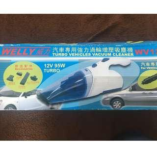 Welly Turbo Vehicles Vacuum Cleaner