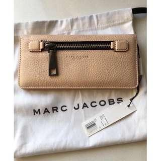 Marc Jacobs Light Pink Leather Wallet