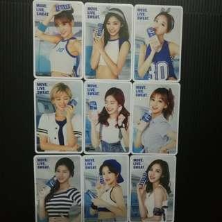 [Ready Stock] Twice Pocari Sweat Duplicate pc