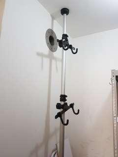 Bicycle tower stand. Rack. Holder