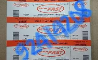 NONGSA/HARBOUR BAY BATAM FAST FERRY TICKETS (Etickets ALL IN)