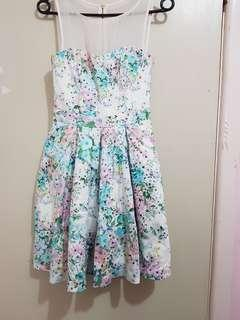 Sexy cute babydoll floral dress