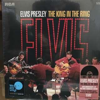 Elvis Presley The King In The Ring Vinyl Record